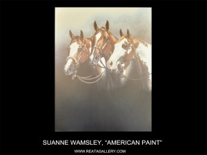 """Suanne Wamsley, """"American Paint"""" (American Paint)"""