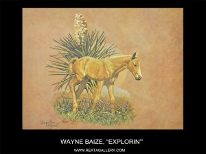 "Wayne Baize, ""Young 'uns Set, Explorin'"""