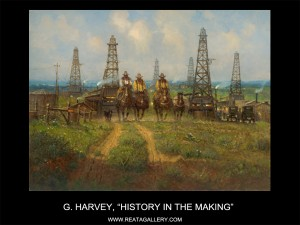 """G Harvey, """"History in the Making"""""""
