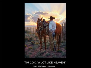 "Tim Cox, ""A Lot Like Heaven"""