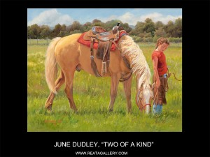 "June Dudley, ""Two of a Kind"""