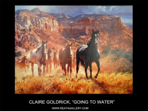 "Claire Goldrick, ""Going to Water"""