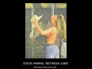 "Steve Harris, ""Between Jobs"""