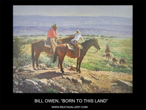RGT Owen, Bill, Born to this Land