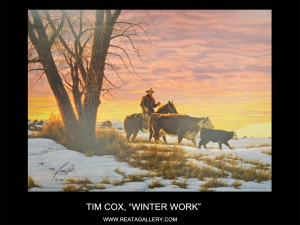 RGT Cox, Tim, Winter Work